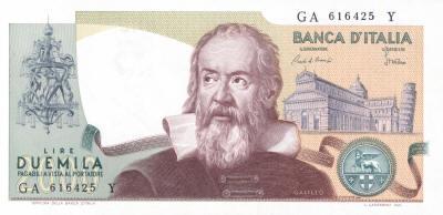 Galileo 2000 Italian Lire