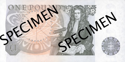 Newton 1 British Pound