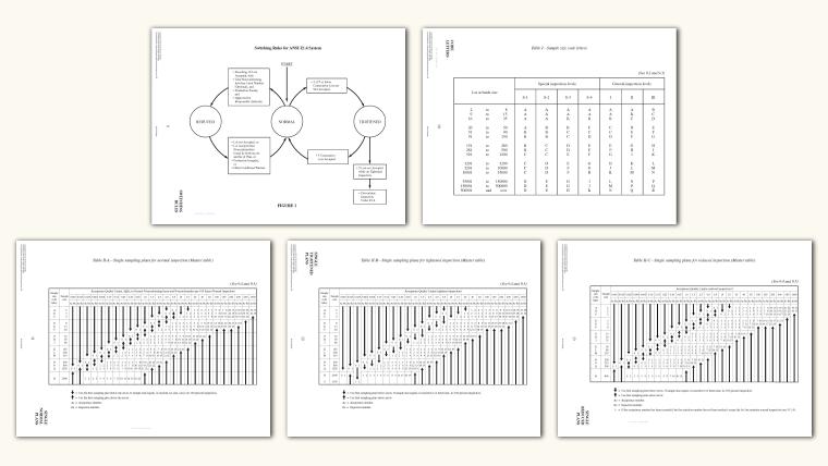 ANSI Z1.4 Sampling System
